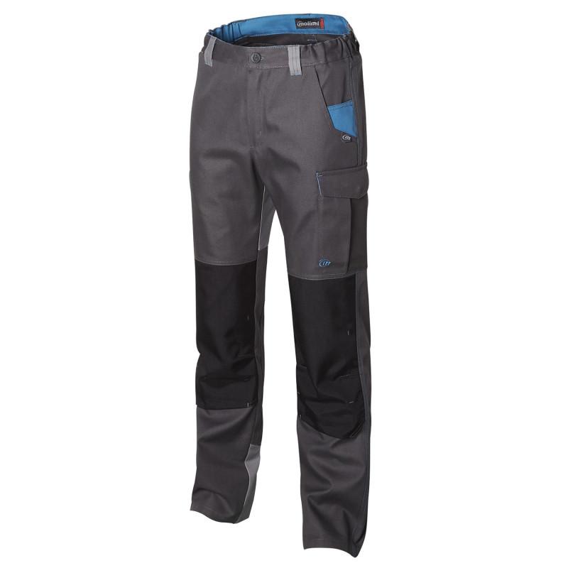 pantalon travail bicolore