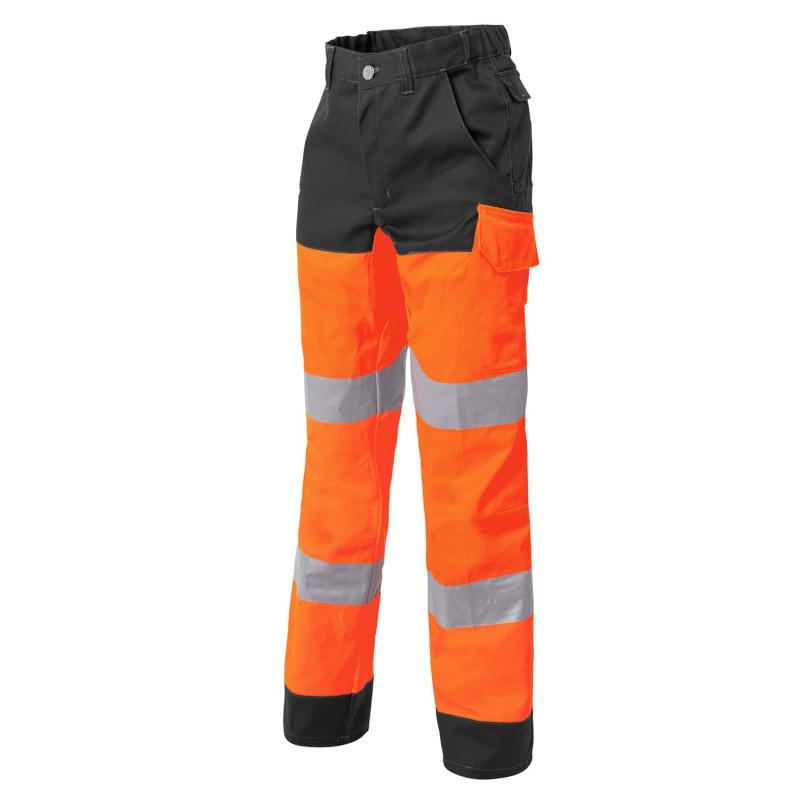 Pantalon travail fluo
