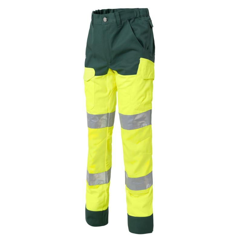 Pantalon de travail haute visibilité classe 2