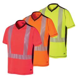 Tee shirt haute visibilité anti-UV LUKLIGHT