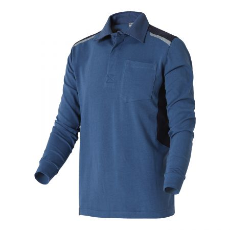 Polo professionnel bleu