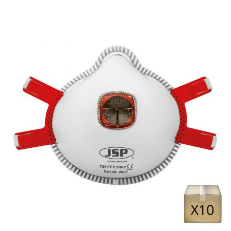 masque respiratoire jetable ffp3