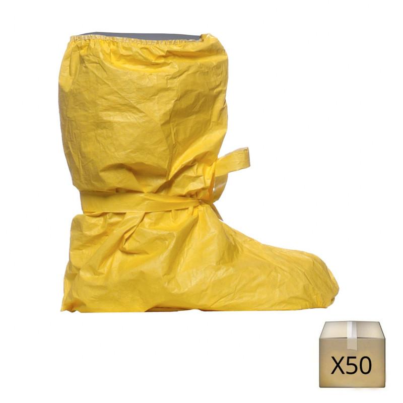 couvre botte protection chimique jetable