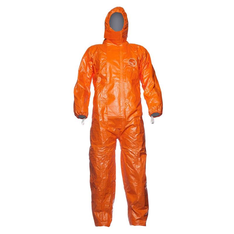 Combinaison protection chimique orange