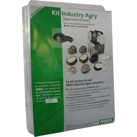 kit masque industrie msa