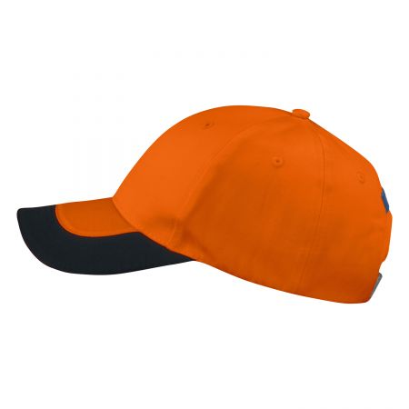 Casquette orange haute visibilité