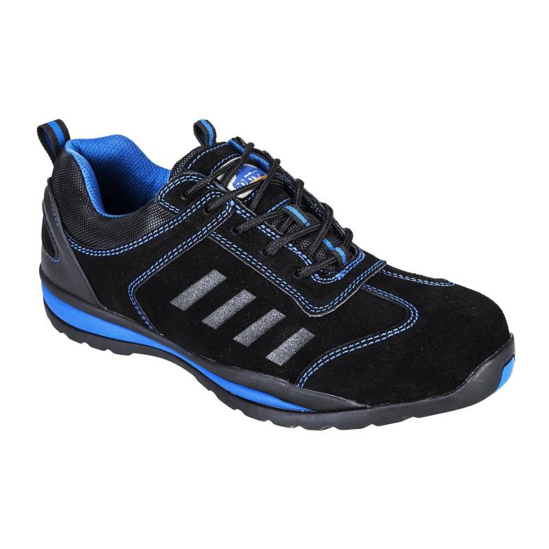Chaussures de sécurité noir bleu pas cher