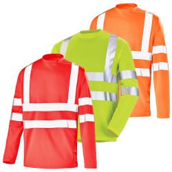 T-shirt travail fluo haute visibilité léger