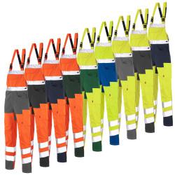 Cotte à bretelles Haute visibilité Classe 2 PROCA