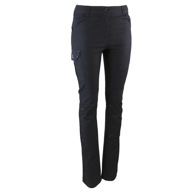 Pantalon travail femme noir