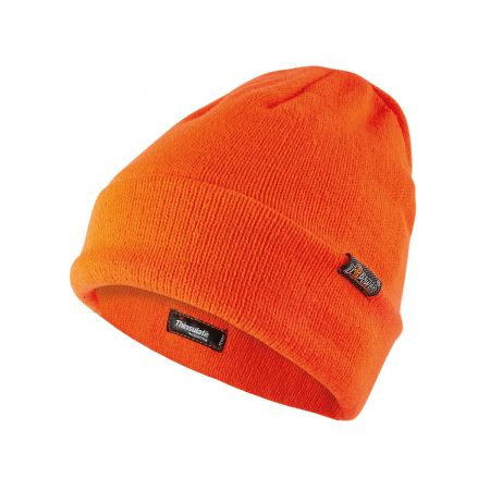 Bonnet orange fluo professionnel