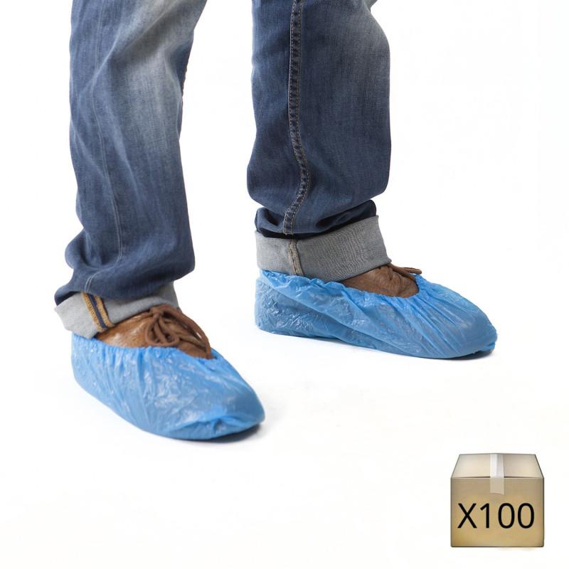 sur chaussure plastique jetable