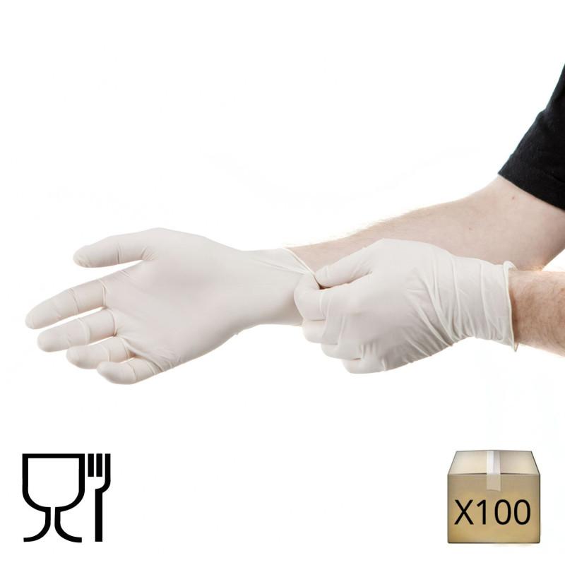 gant latex jetable
