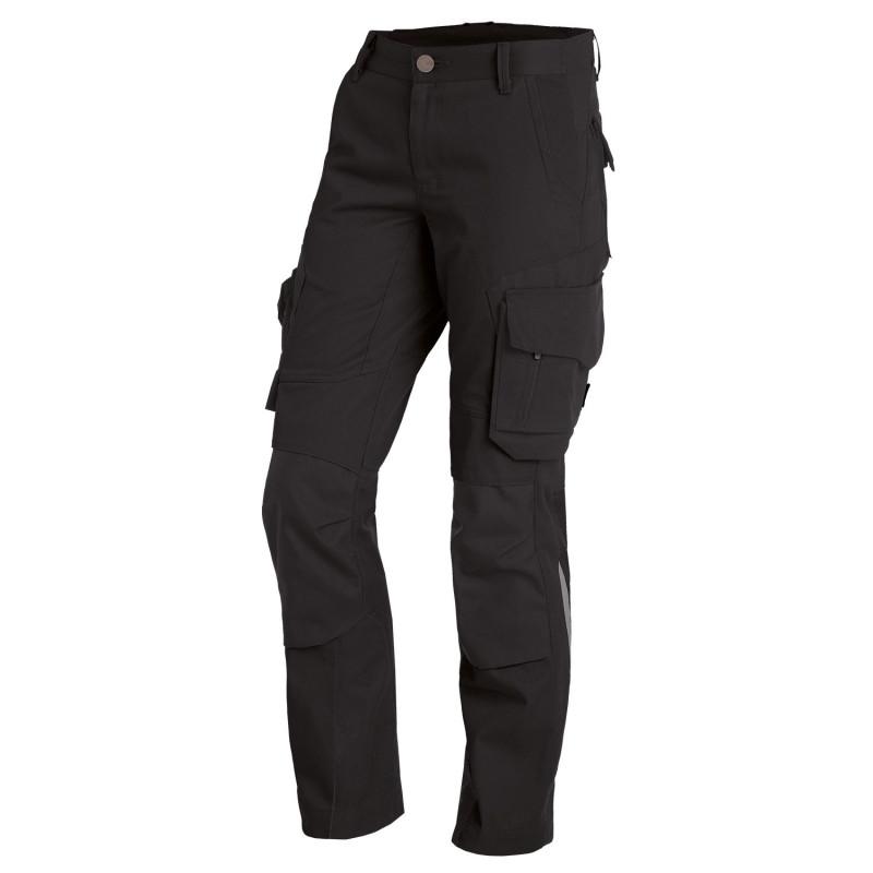 Pantalon travail noir femme