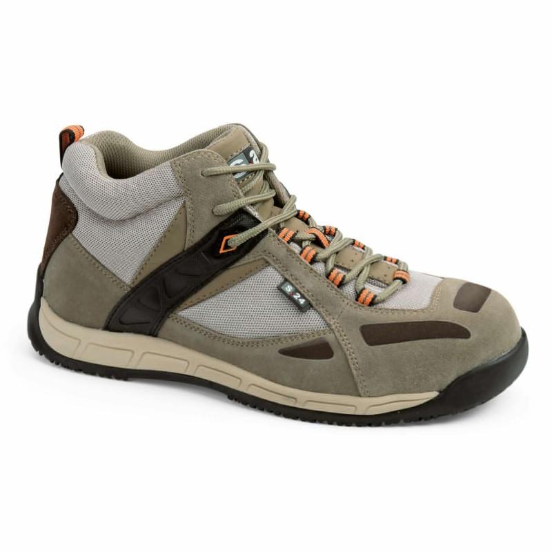 Chaussures de sécurité beige pour homme