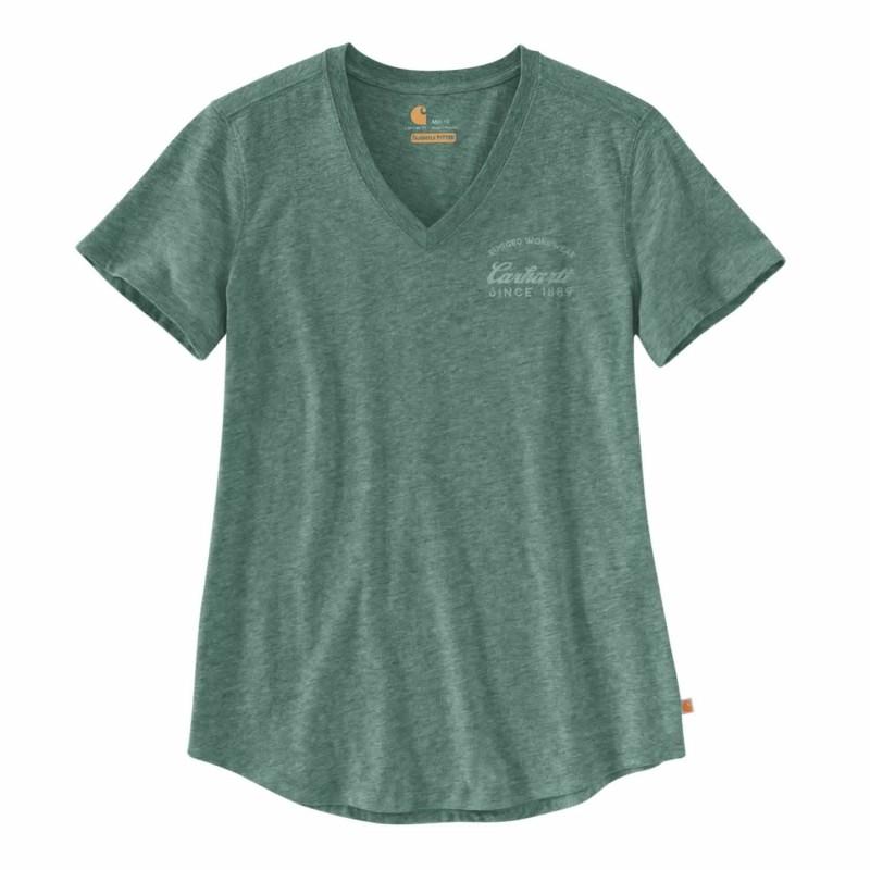 tee shirt femme carhartt workwear