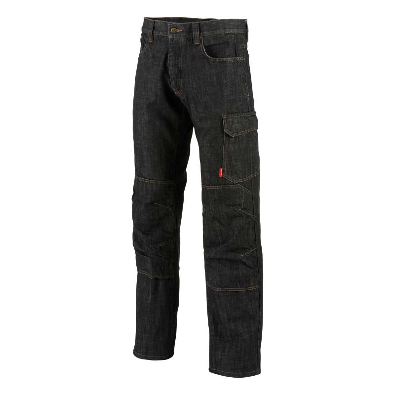 jean professionnel noir Lafont Alicki 100% coton