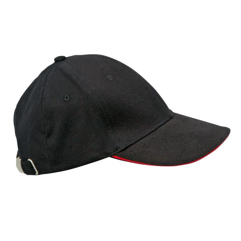 casquette de cuisine noire