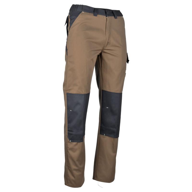Pantalon travail marron