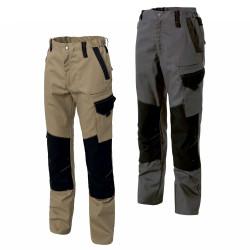 Pantalon travail poches genoux