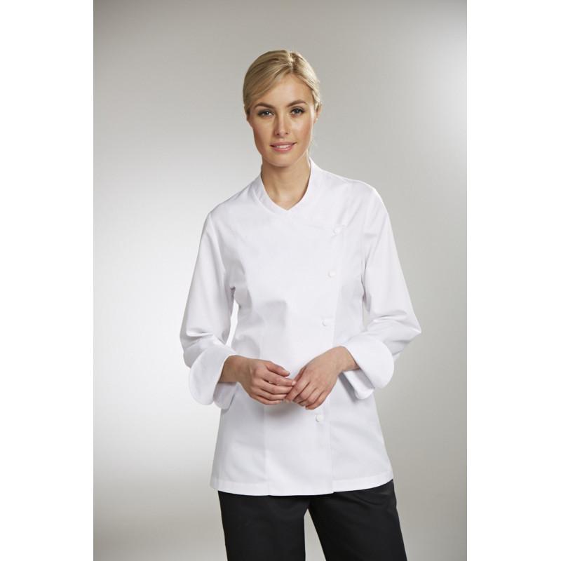 veste de cuisine bragard julia blanc