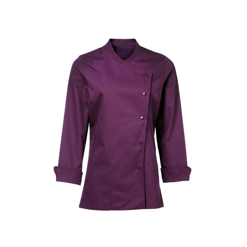 veste de cuisine femme bragard julia violet (prune)
