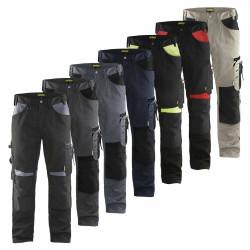Pantalon de travail bicolore avec poches genoux 1556