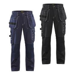 Pantalon artisan multipoches 100% Coton 1530