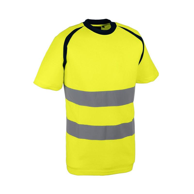 Tshirt jaune haute visibilité