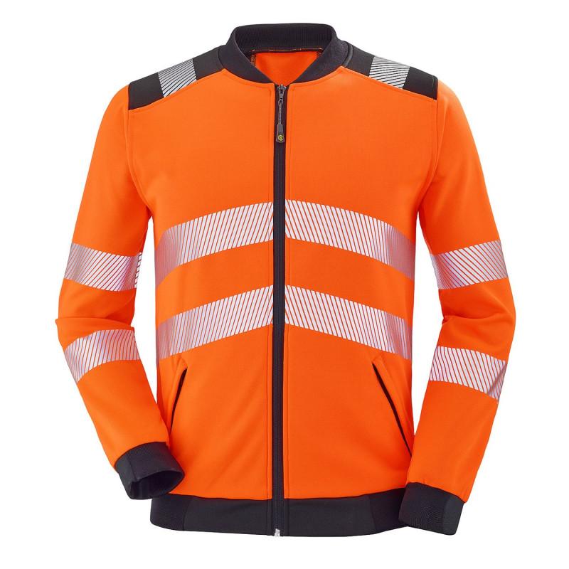 Sweat haute visibilité orange