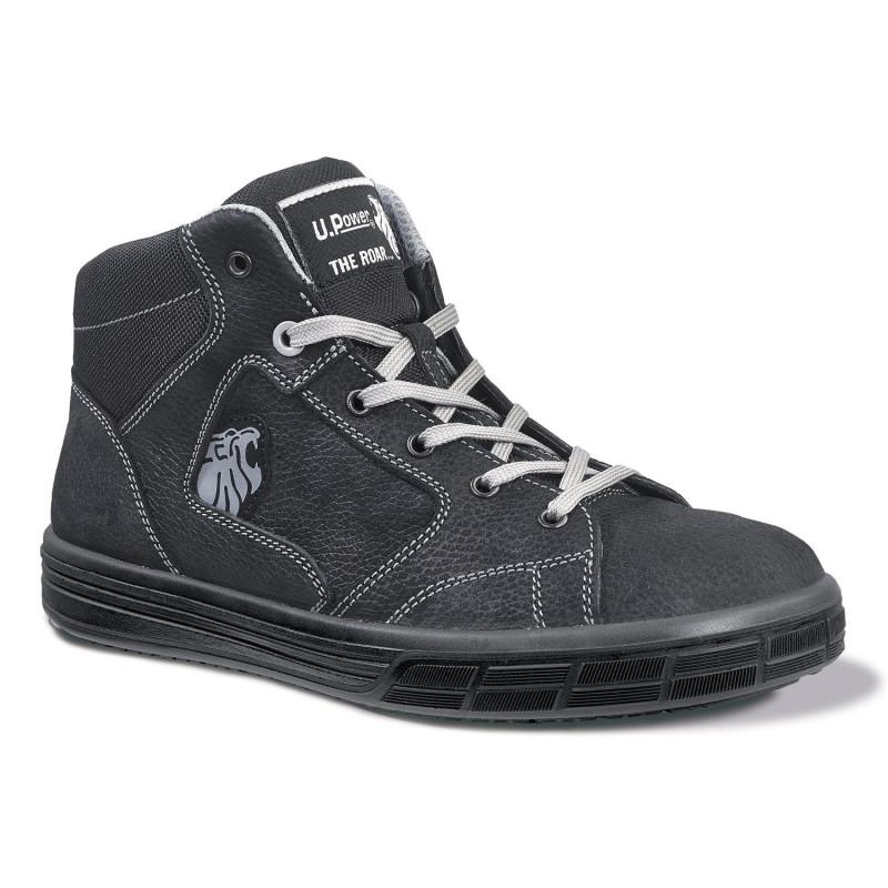 Chaussures de sécurité travail sur toiture