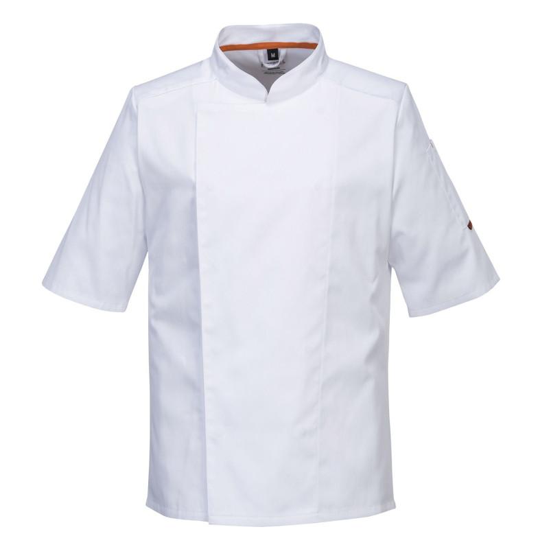 veste cuisine blanche