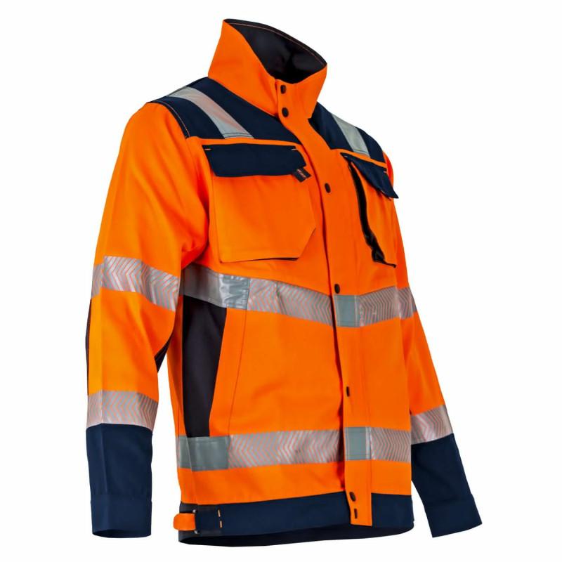 Veste haute visibilité orange