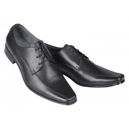 Derby cuir noir SMART
