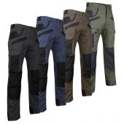 Pantalon de travail renforcé multipoches