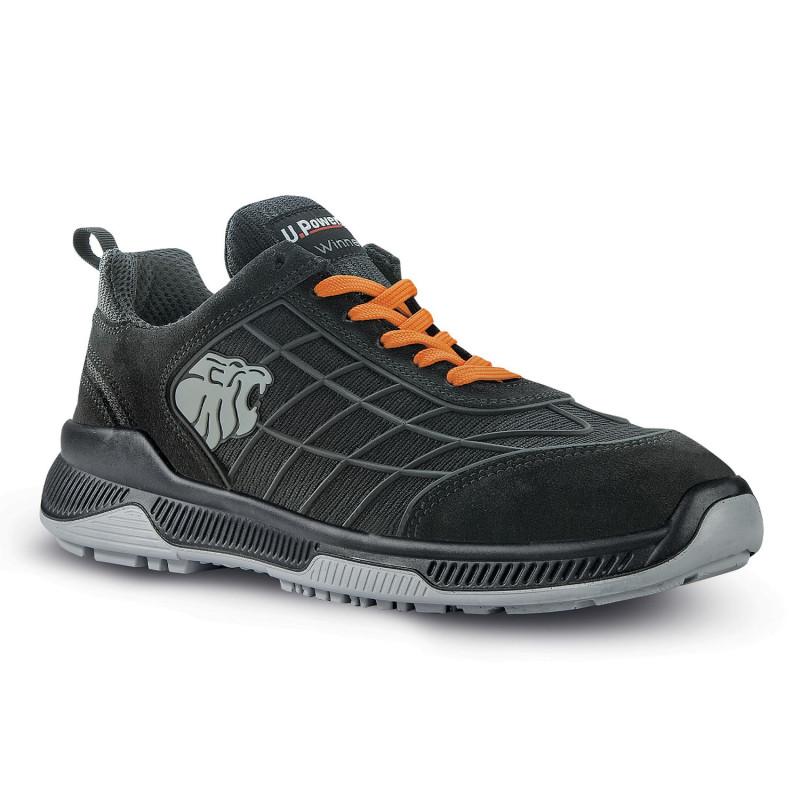 Chaussures de sécurité été type baskets respirantes Upower S1P SRC MATCH
