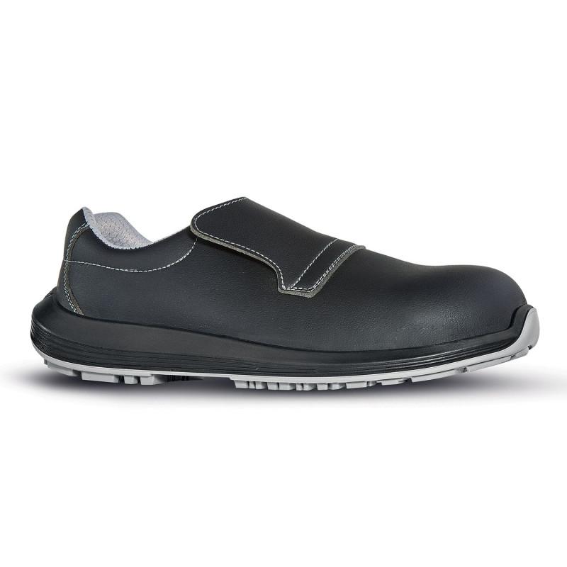 chaussure cuisine noire