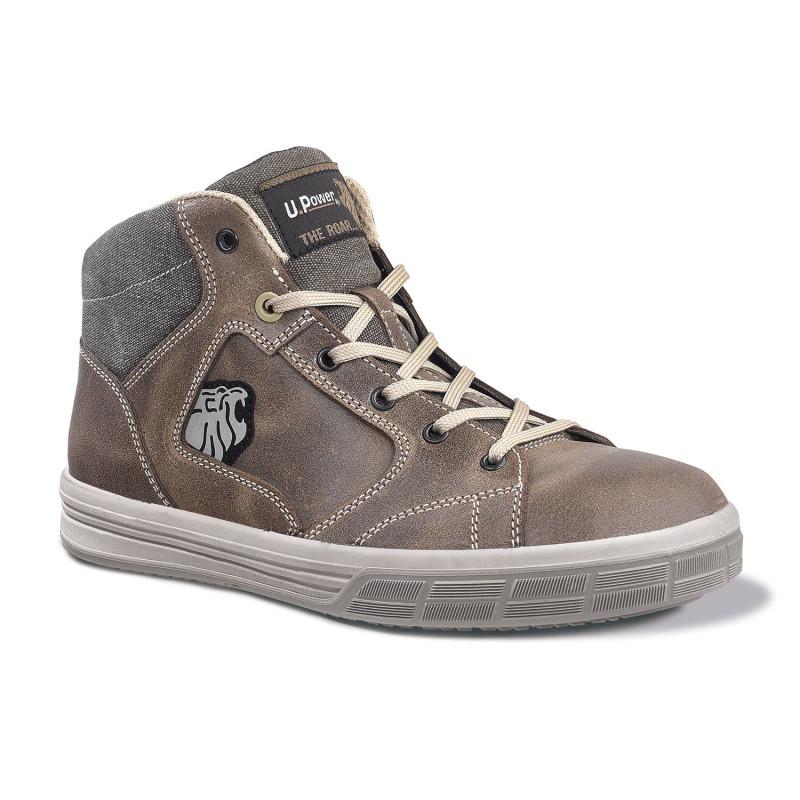 Chaussures de sécurité spéciales toitures upower S3 SRC SAFARI