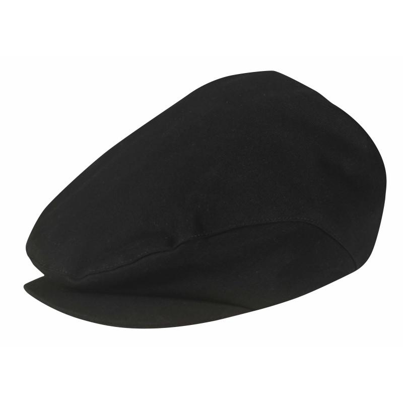 Casquette Beret de cuisinier CAPS Robur Noir