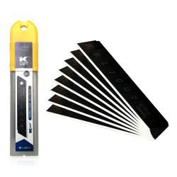 X10 lames cutter black blade 25mm 568811 KELI