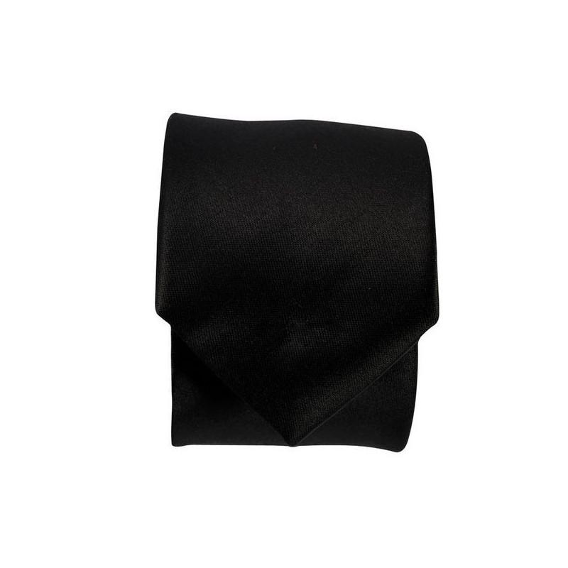 Cravate de service noire ULNA Robur