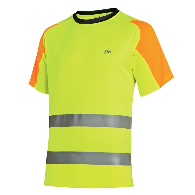 Tee shirt haute visibilité Luklight Molinel