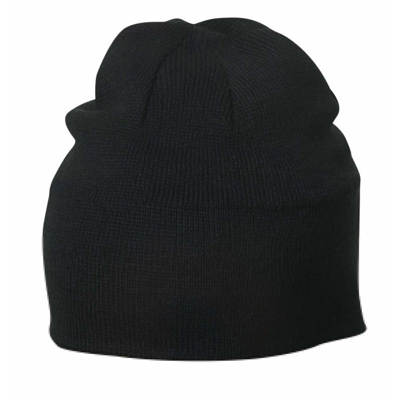 Bonnet 100% coton noir