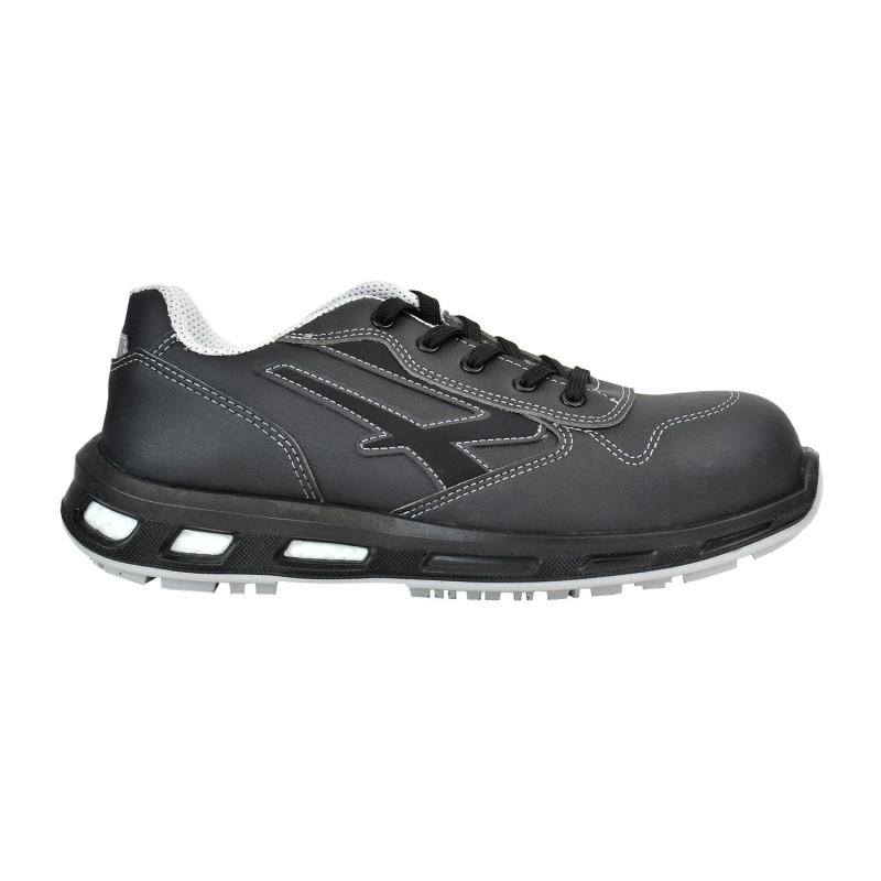 Chaussures de sécurité noires sans métal UPOWER RedLion anti-fatigue et antidérapante S3 CI SRC LINKIN