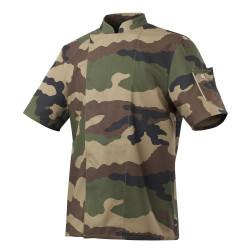 Veste cuisine camouflage militaire