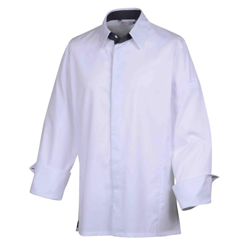 Veste de cuisine col chemise Temi