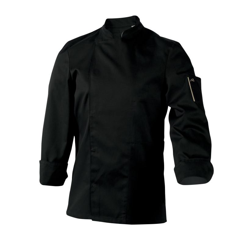 Veste de cuisine mixte manches longues NERO