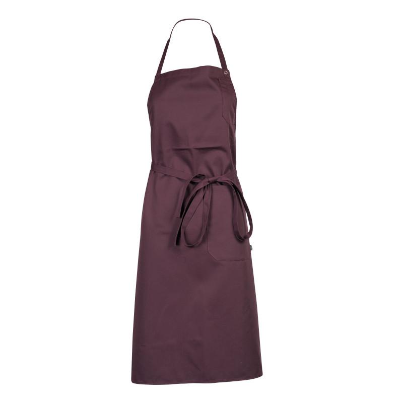 Tablier à bavette prune violet Robur Loti