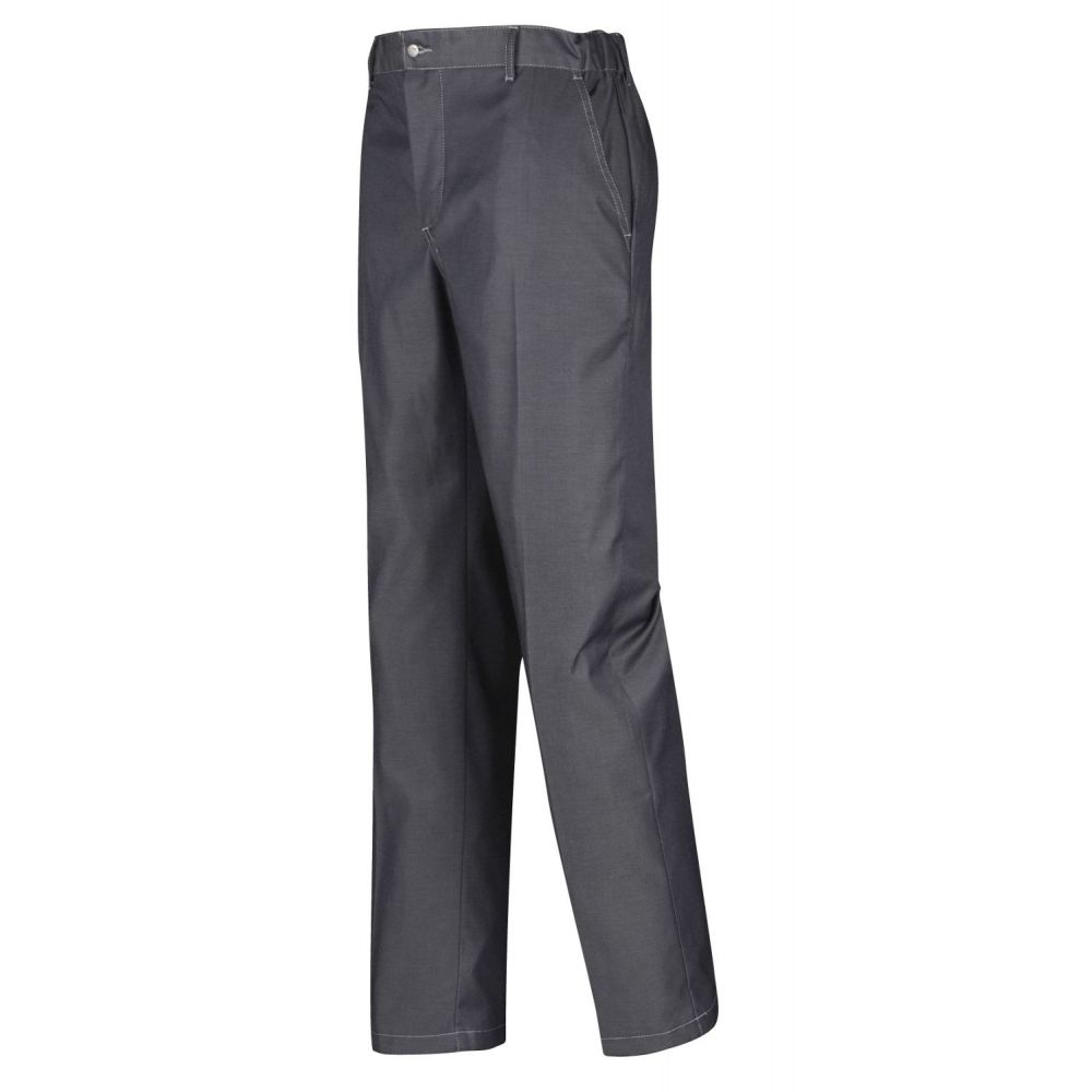 Pantalon de cuisine denim timeo vetementpro com for Pantalon de cuisine bragard