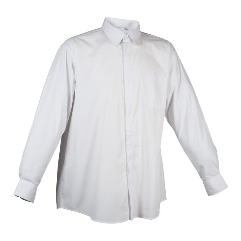 Chemise blanche homme NAPLES Robur à manches longues